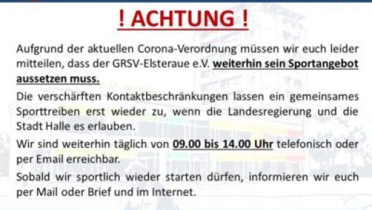 Aktuelle Corona Informationen